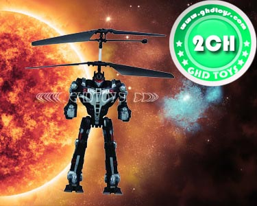 2CH R/C ROBOT WITH GYRO,LIGHT&SOUND